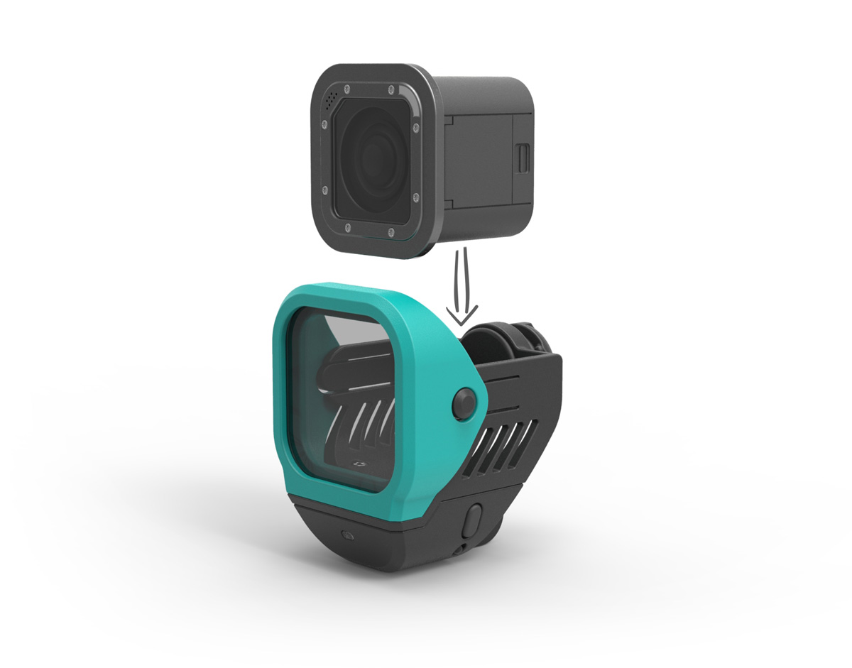 GoPro camera attachment