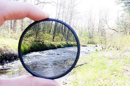 ND-filter demonstration