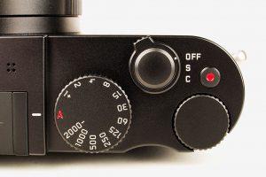 Leica Q controls